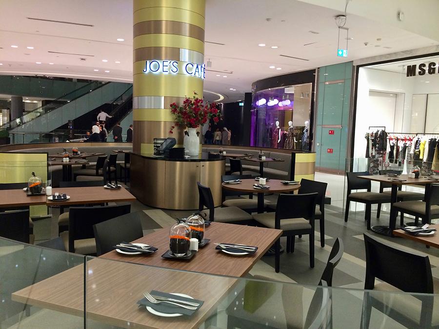 Joe's cafe Dubai