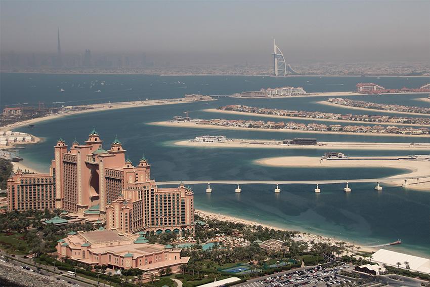 endroits chics, tendances de Dubaï