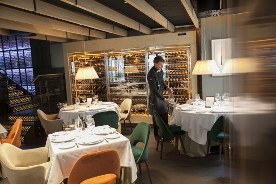 restaurant La Maquina de Jorge Juan Madrid