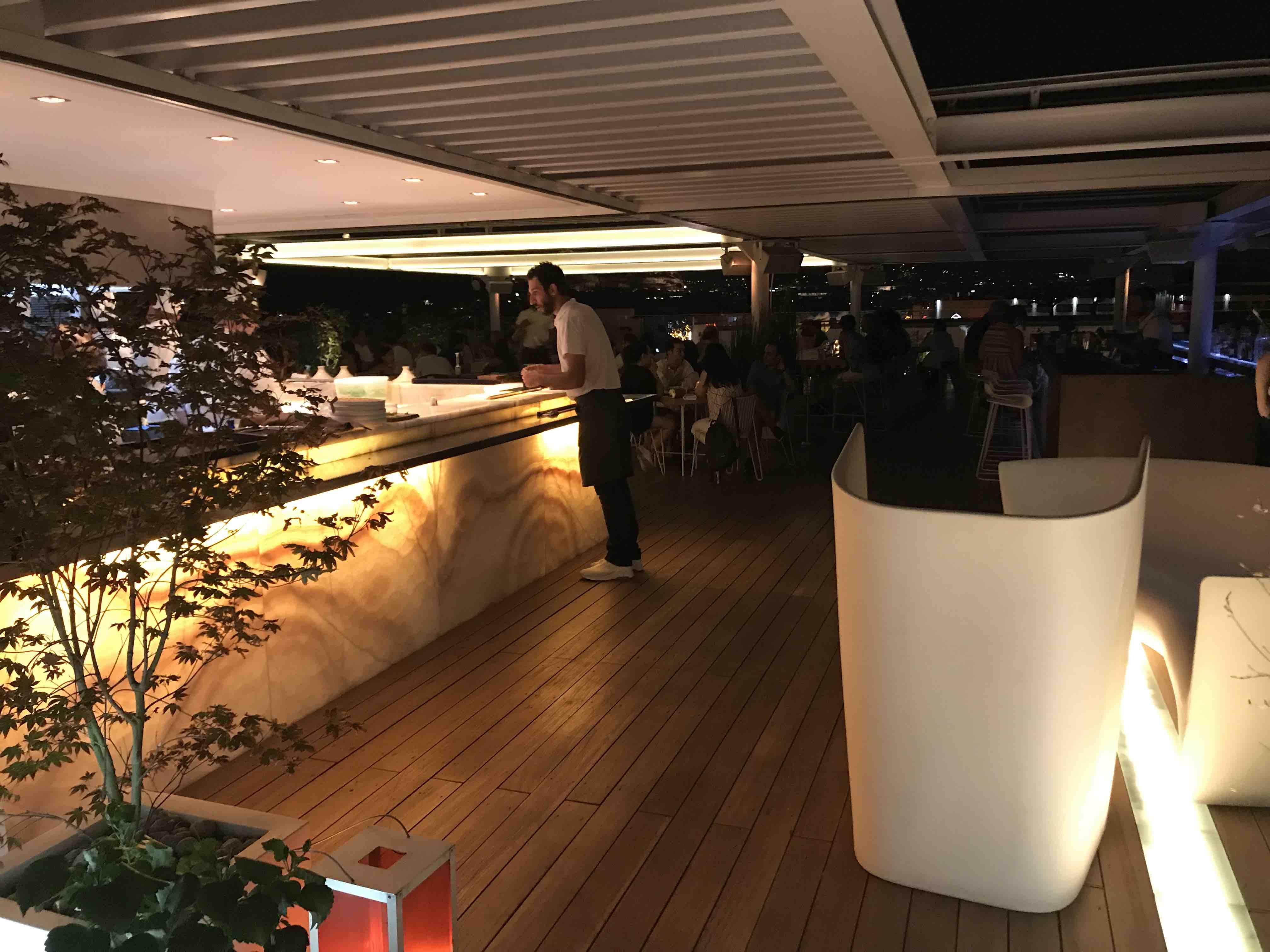 Hytra restaurant Athènes