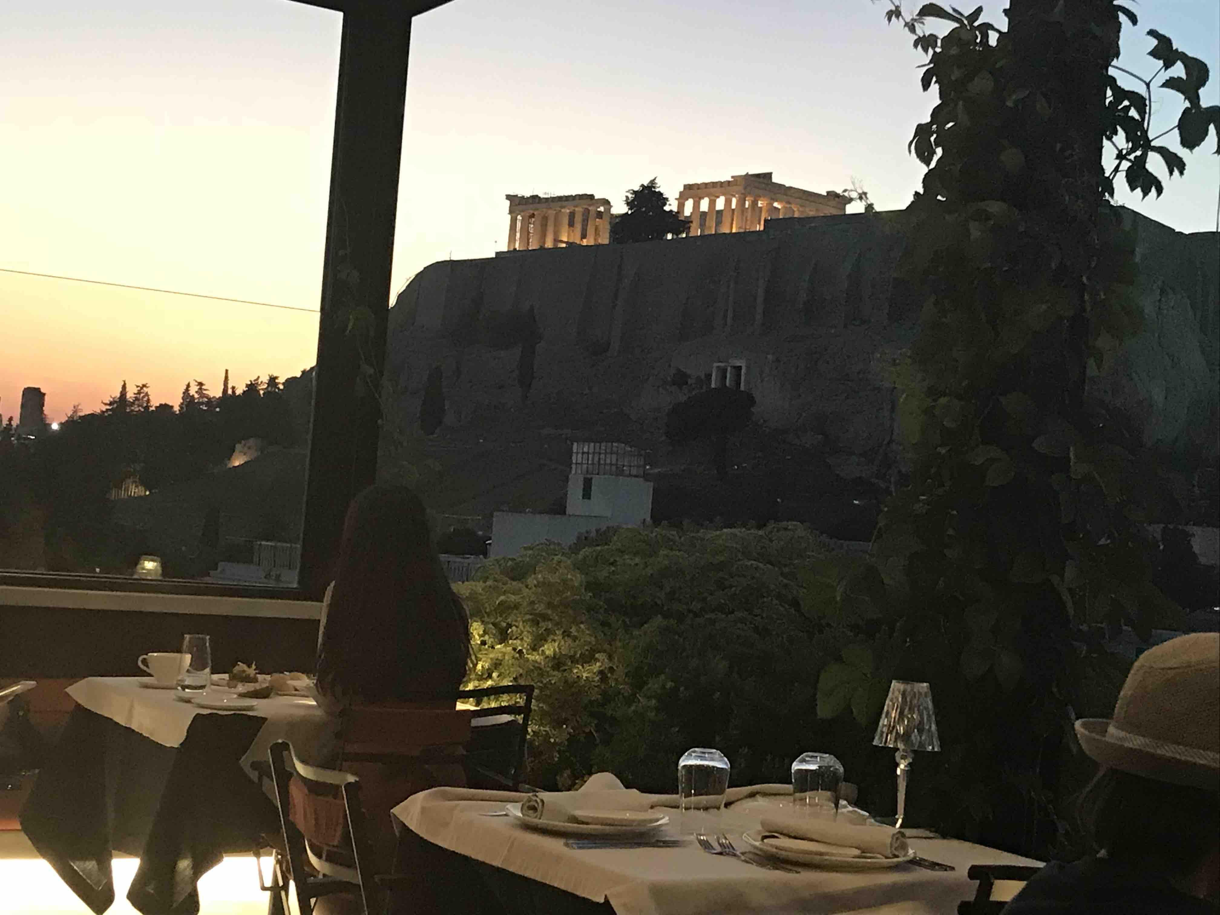 Sense restaurant Athènes