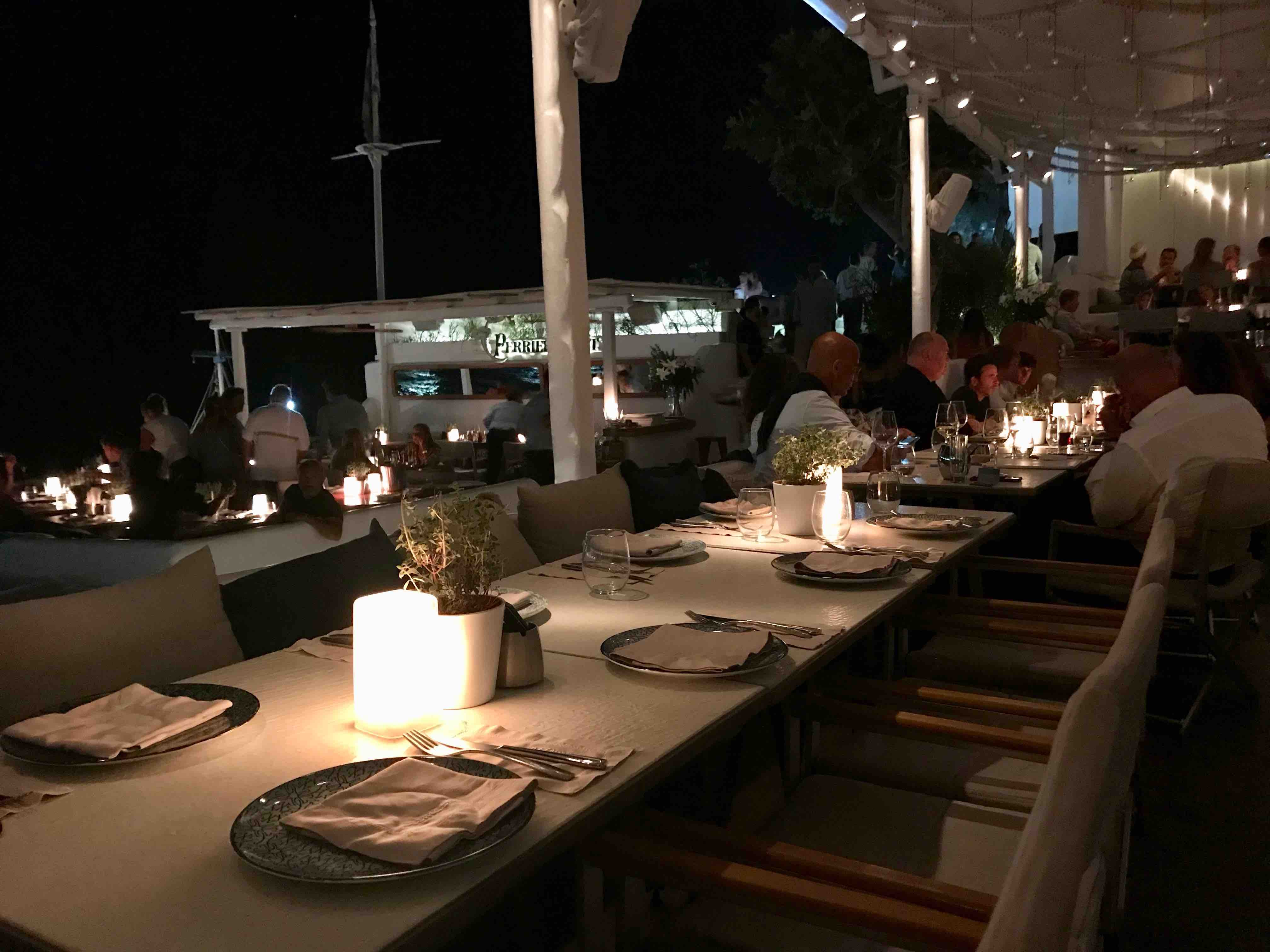 Remezzo restaurant Mykonos